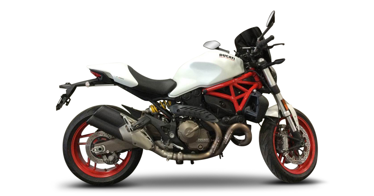 2015 DUCATI MONSTER 821 WHITE (ABS) For Sale