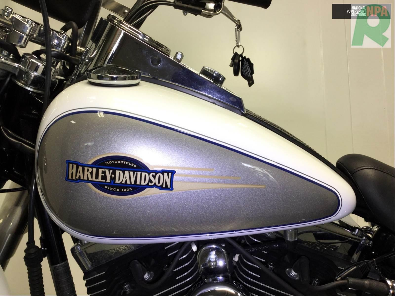 2008 HARLEY-DAVIDSON FLSTC HERITAGE SOFTAIL CLASSIC ANNIVERSARY