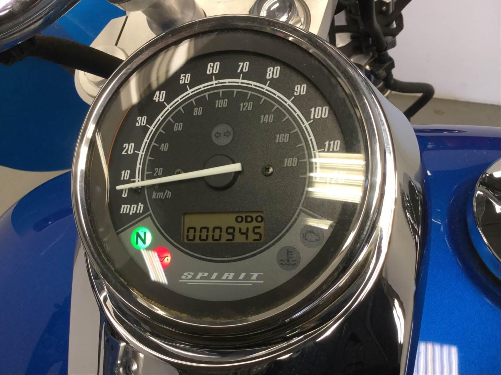 2013 Honda Vt750c2fd Shadow Spirit For Sale