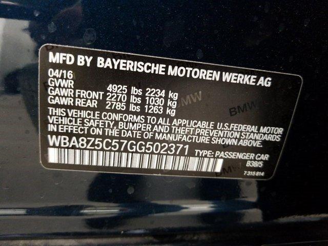 2016 BMW 3-SERIES GRN TURISMO