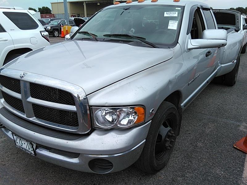 Dodge 3500 For Sale >> 2004 Dodge Ram 3500 For Sale