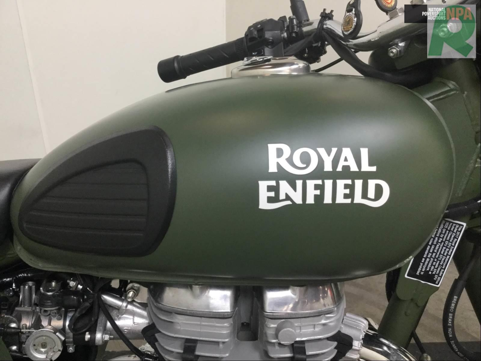 2017 ROYAL ENFIELD CLASSIC 500 ARMY